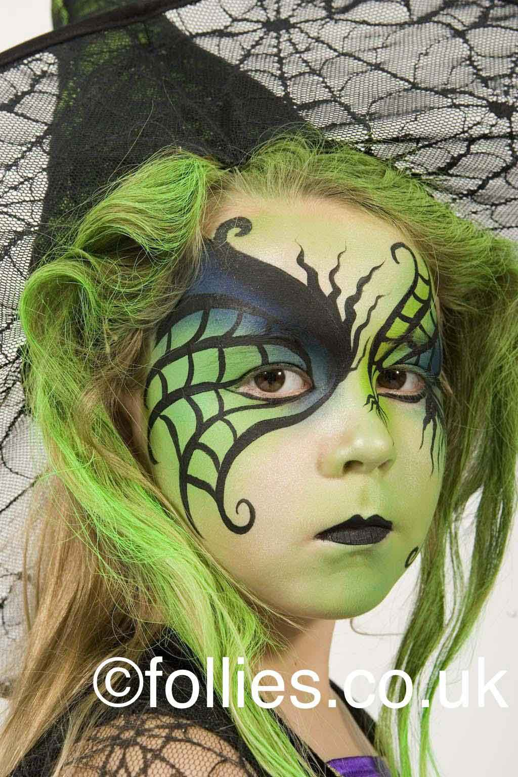 Face Painted Witch by Follies