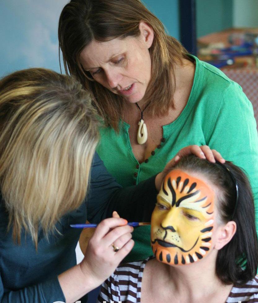 face paint training liz bylett