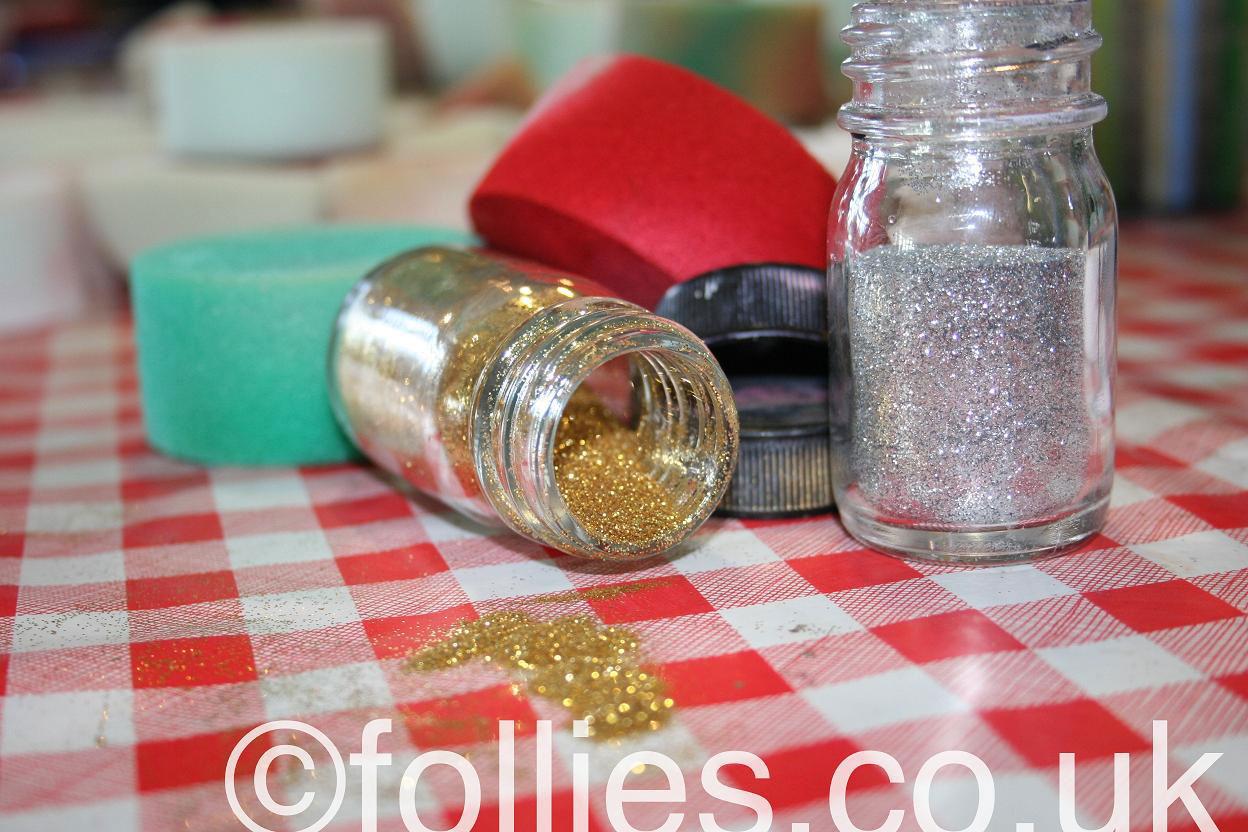learn glitter tatoos   Follies
